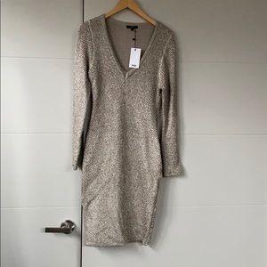 Wow Couture metallic knit dress